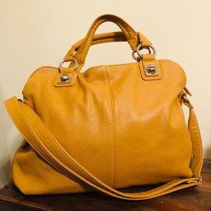 Mossimo + Mustard Satchel Handbag